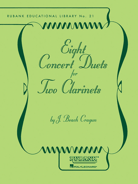 Eight Concert Duets for Two Clarinets