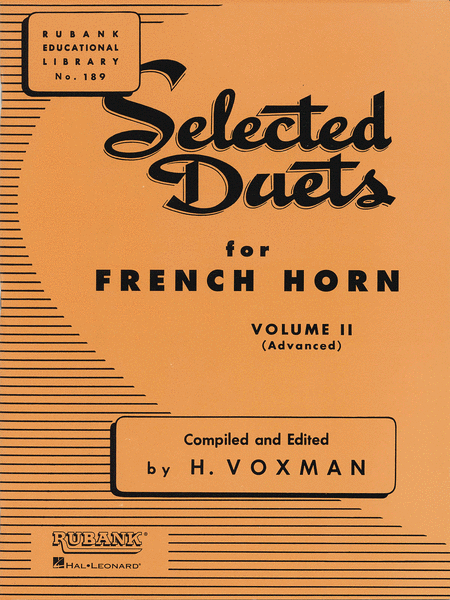 Selected Duets - French Horn (Volume 2)