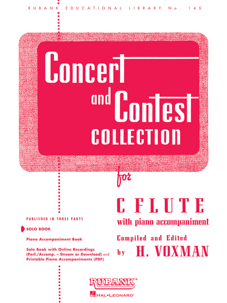 Concert and Contest Collections (solo C Flute)