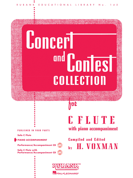 Concert and Contest Collection - C Flute (Piano accompaniment)