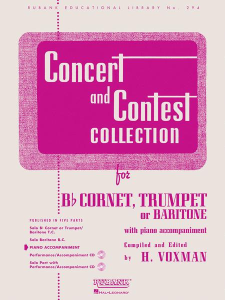 Concert and Contest Collections - Trumpet/Cornet/Baritone (Piano Accompaniment Part)