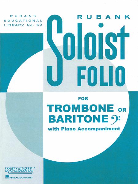 Soloist Folio - Trombone/Baritone B.C. and Piano