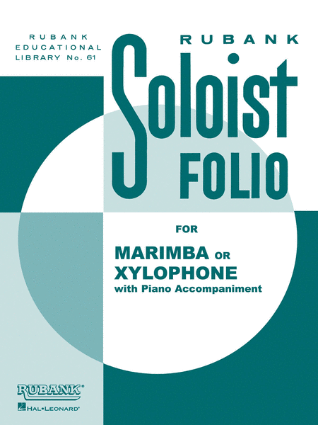 Soloist Folio - Xylophone or Marimba and Piano