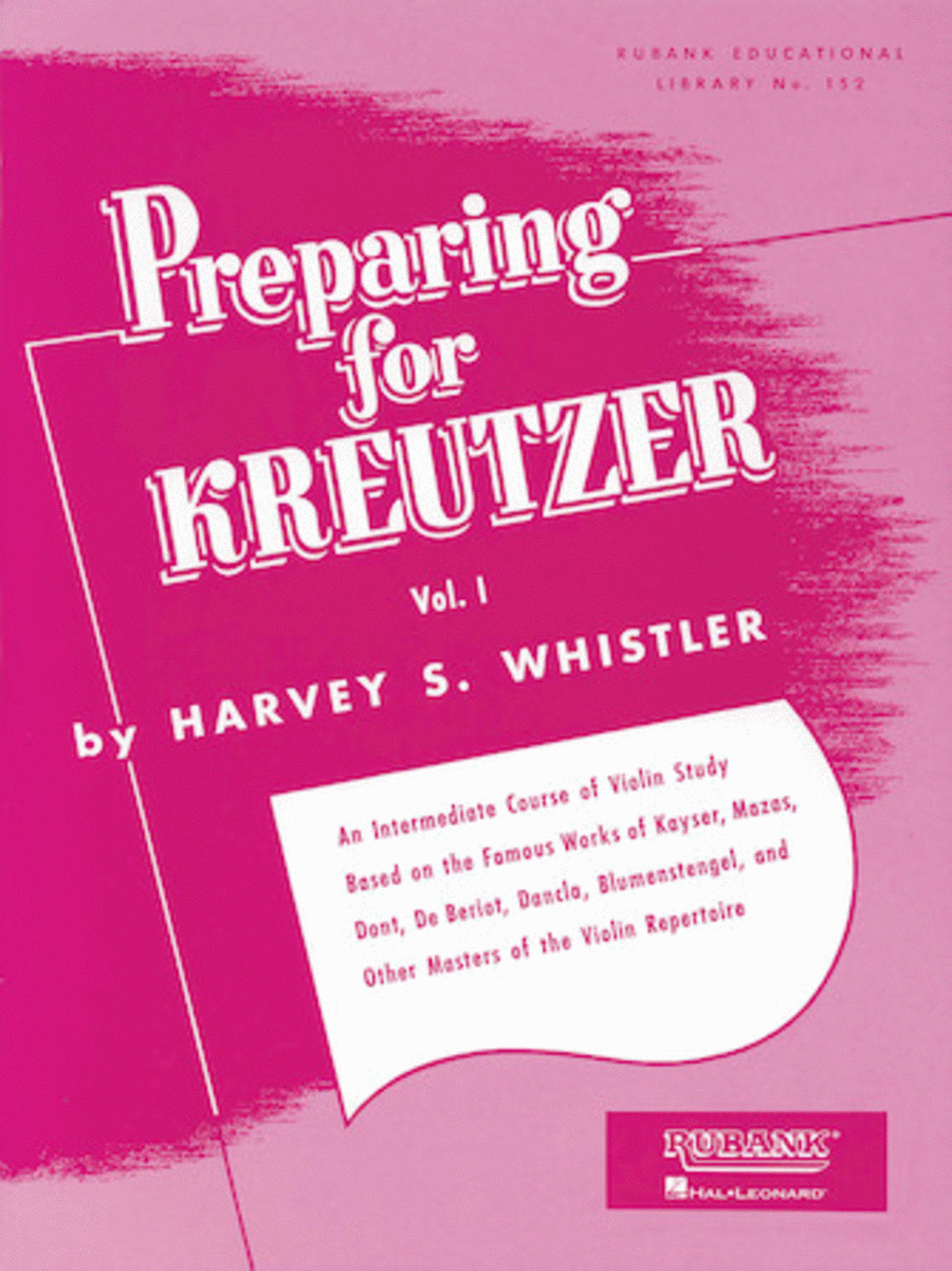 Preparing for Kreutzer - Volume 1
