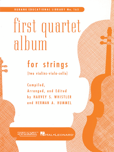 Trio And Quartet Albums - First Quartet Album For Strings (Two Violins, Viola & Cello)