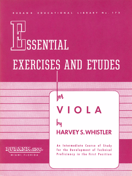 Essential Exercises and Etudes for Viola