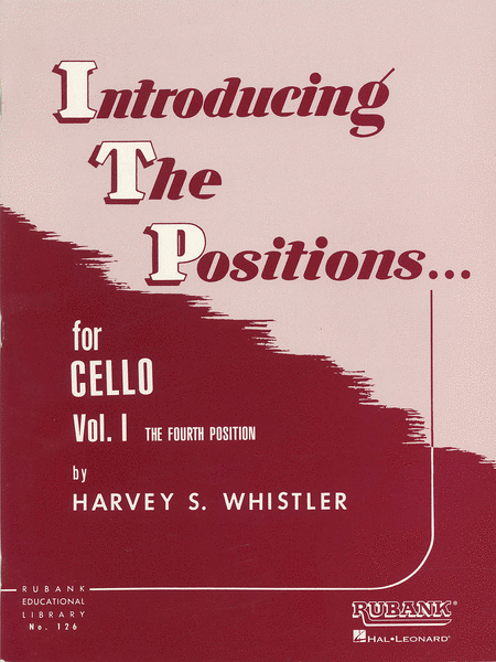 Cello And String Bass Introducing Positions - Volume 1 (Fourth Position)