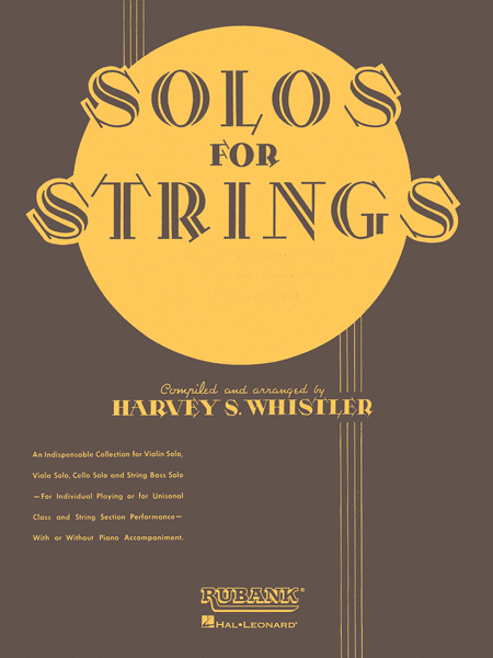 Solos For Strings - Violin Solo (First Position)