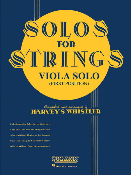 Solos For Strings - Viola Solo (First Position)
