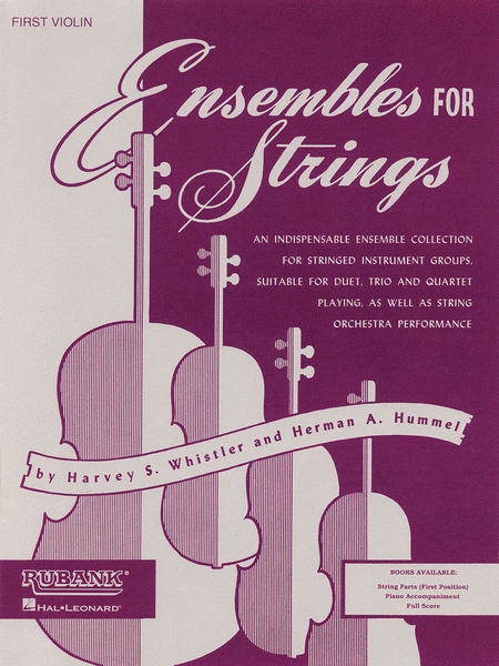 Ensembles For Strings - First Violin