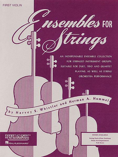 Ensembles For Strings - Piano Accompaniment