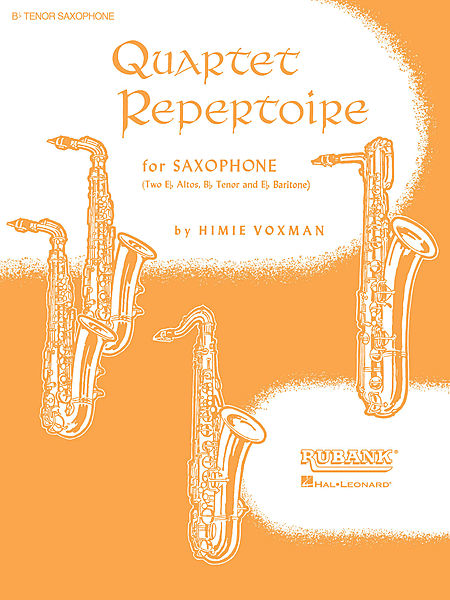 Quartet Repertoire for Saxophone - 2nd Eb Alto