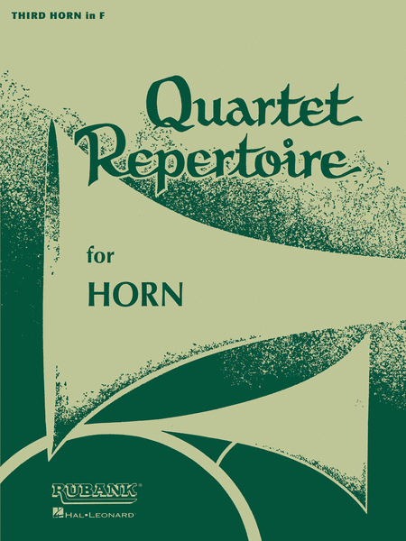 Quartet Repertoire for Horn