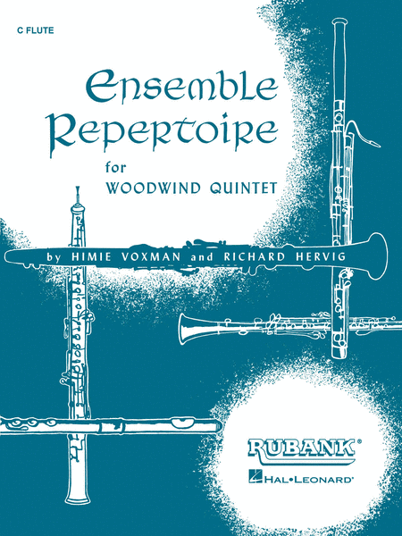 Ensemble Repertoire for Woodwind Quintet - Flute