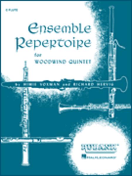 Ensemble Repertoire for Woodwind Quintet