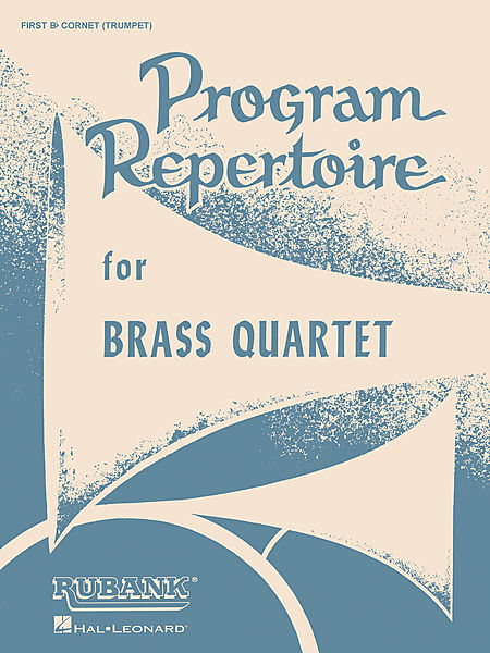 Program Repertoire for Brass Quartet