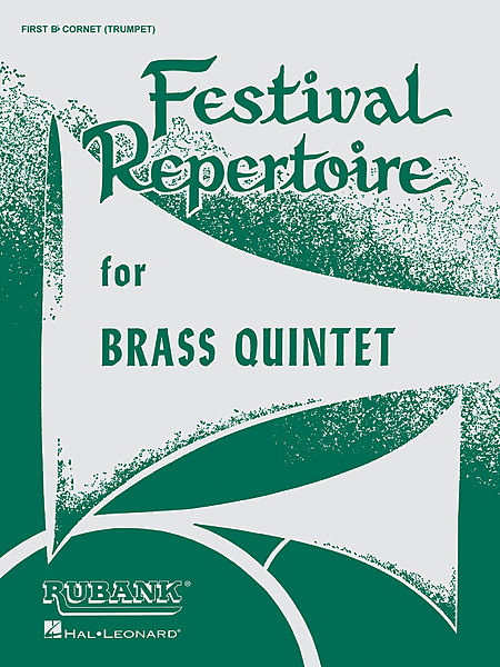 Festival Repertoire for Brass Quintet