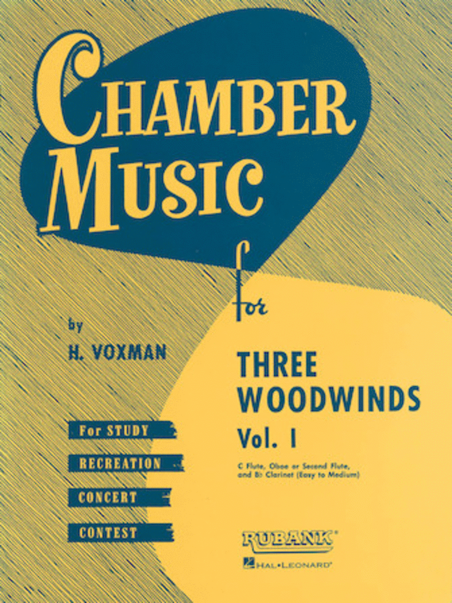 Chamber Music Series for Three Woodwinds