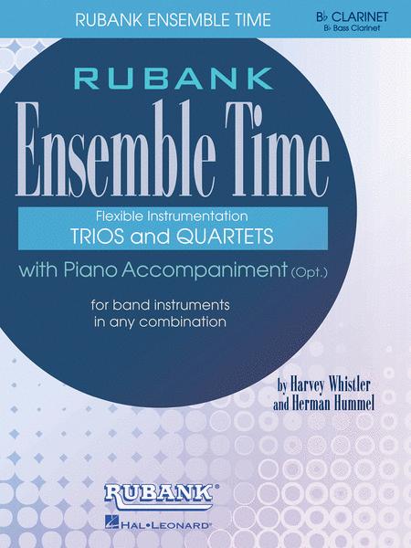 Ensemble Time - B Flat Clarinets (Bass Clarinet)