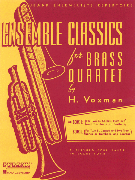 Ensemble Classics For Brass Quartet - Volume 1