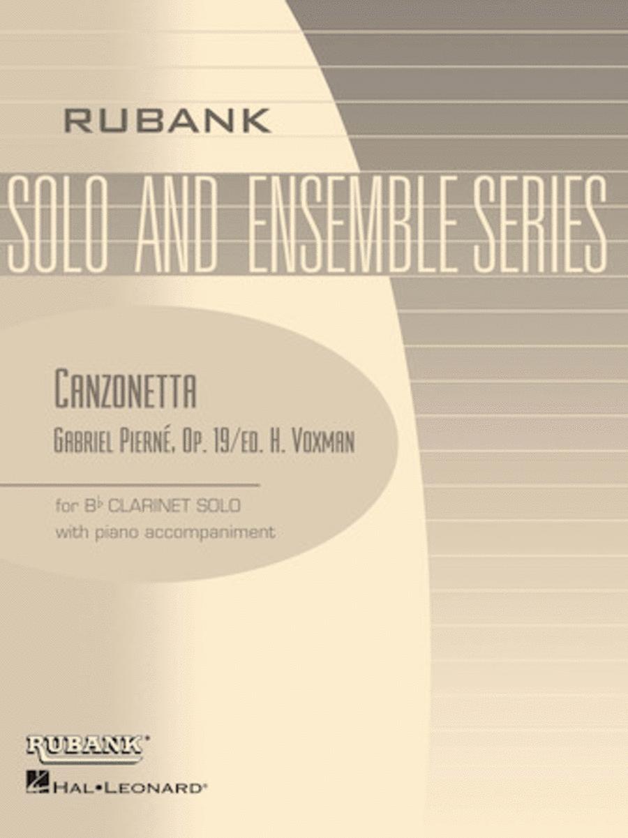 Canzonetta, Op. 19