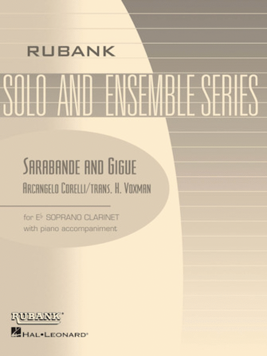 Sarabande and Gigue