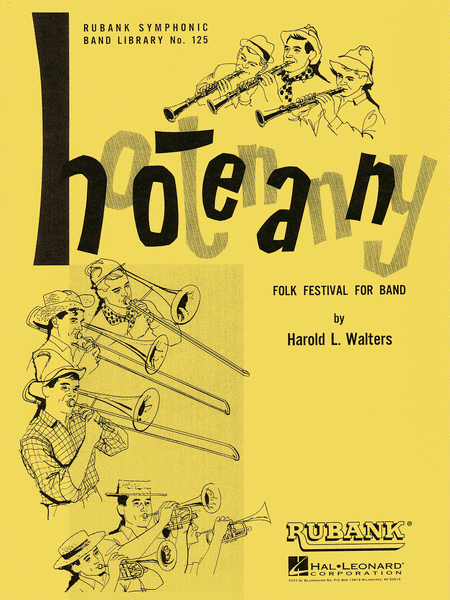 Hootenanny (Folk Festival for Band)