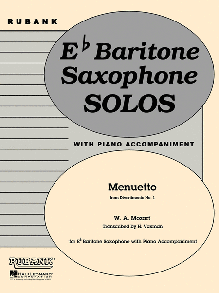 Menuetto (from Divertimento No. 1)