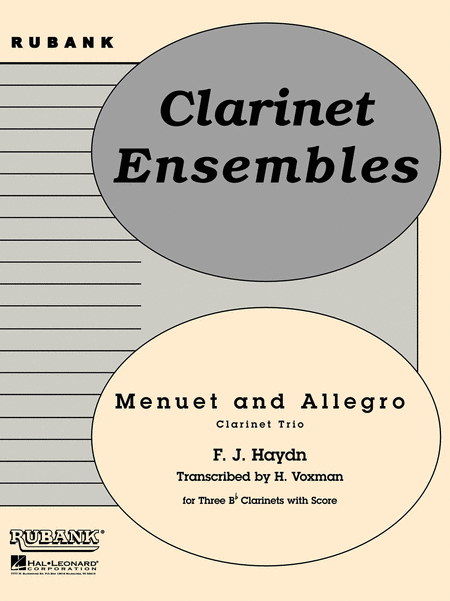 Menuet and Allegro