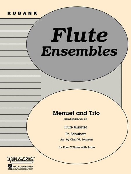 Menuet and Trio (from Sonata, Op. 78)