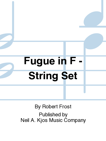 Fugue in F - String Set