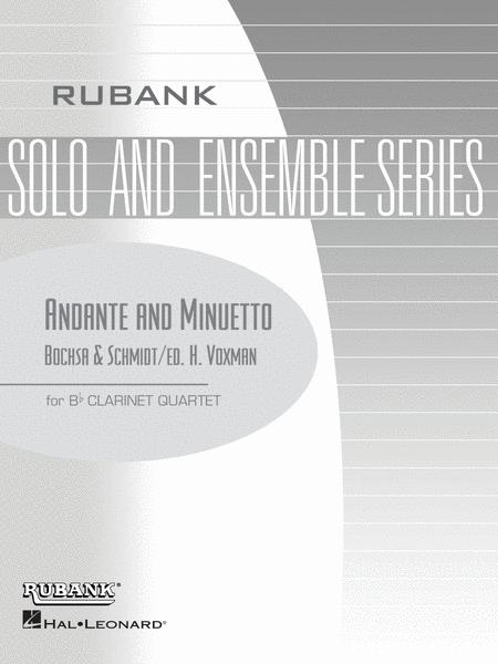 Andante and Minuetto