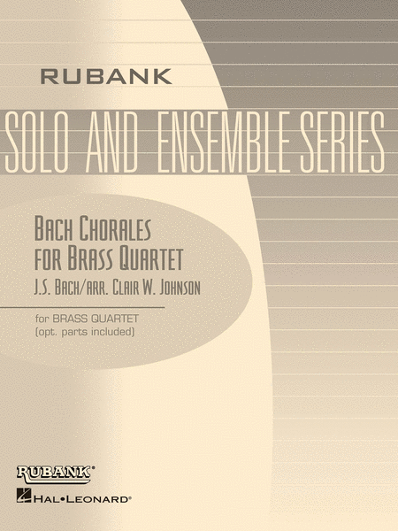 Bach Chorales for Brass Quartet