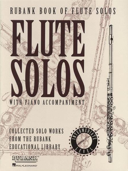 Rubank Book of Flute Solos - Intermediate Level