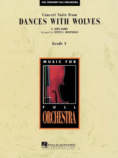Concert Suite from Dances with Wolves