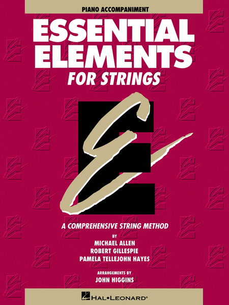 Essential Elements for Strings - Book 1 (Piano Accompaniment)