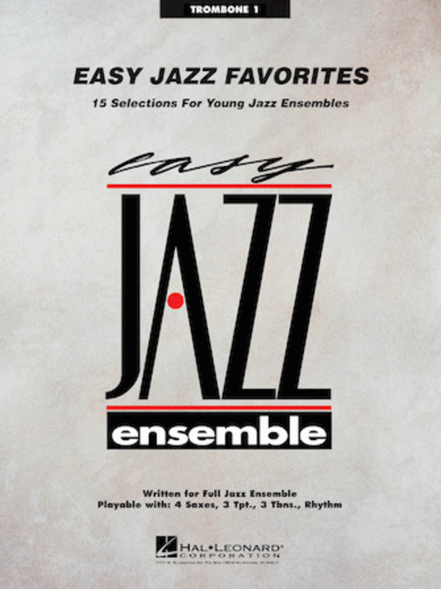 Easy Jazz Favorites - Trombone 1