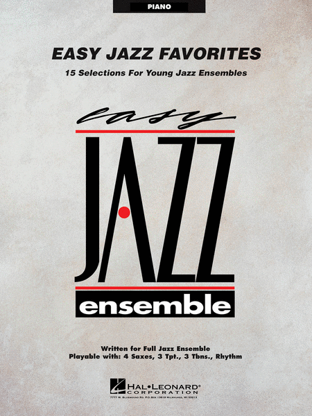 Easy Jazz Favorites - Piano
