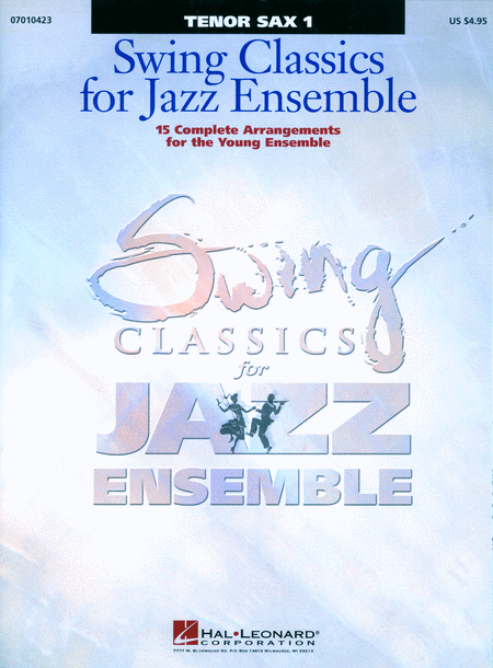 Swing Classics for Jazz Ensemble - Tenor Sax 1