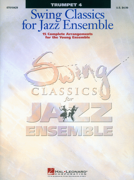 Swing Classics for Jazz Ensemble - Trumpet 4