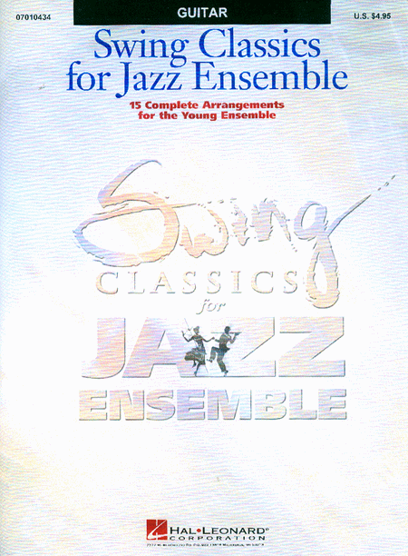 Swing Classics for Jazz Ensemble - Guitar
