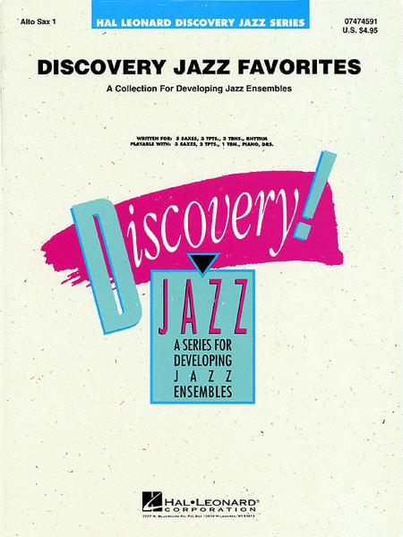 Discovery Jazz Favorites - Alto Sax 1