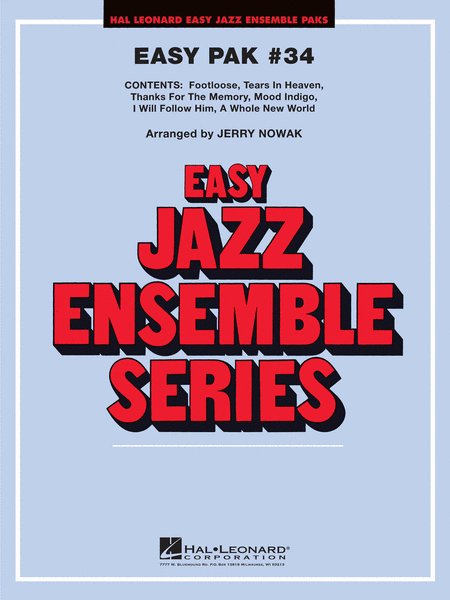 Easy Jazz Ensemble Pak #34