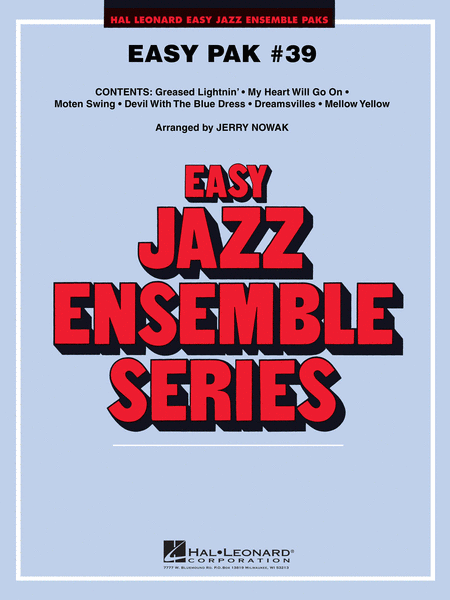EASY JAZZ ENSEMBLE PAK #39