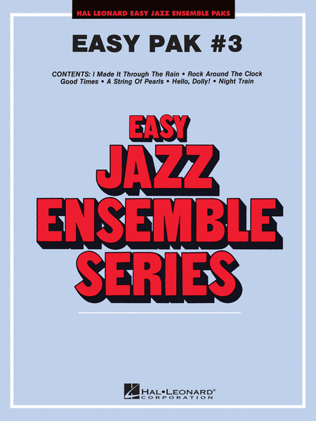 Easy Jazz Ensemble Pak #3