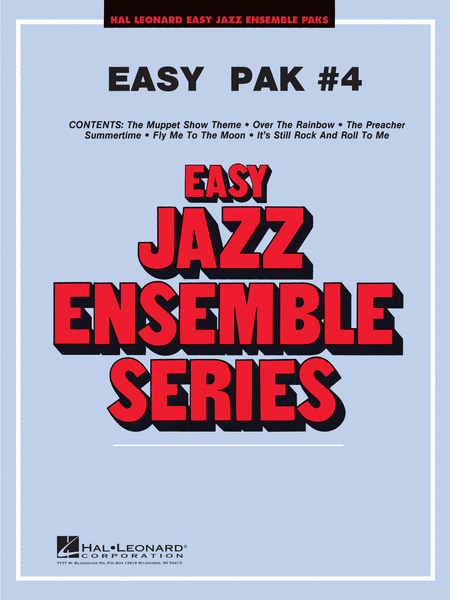 Easy Jazz Ensemble Pak #4