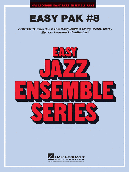 Easy Jazz Ensemble Pak 8