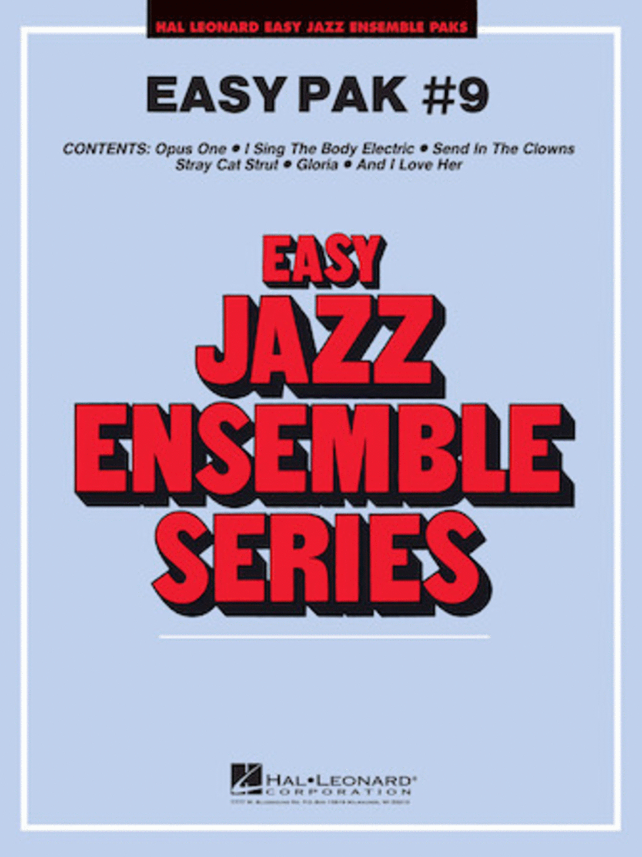 Easy Jazz Ensemble Pak #9