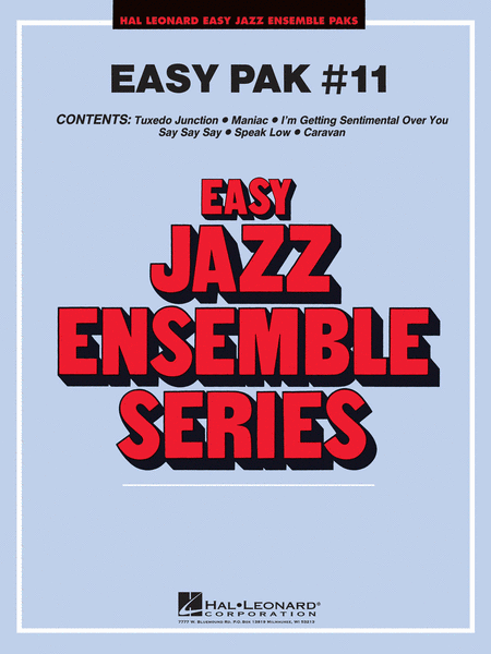 Easy Jazz Ensemble Pak 11