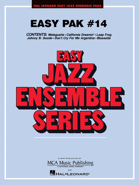 Easy Jazz Ensemble Pak 14